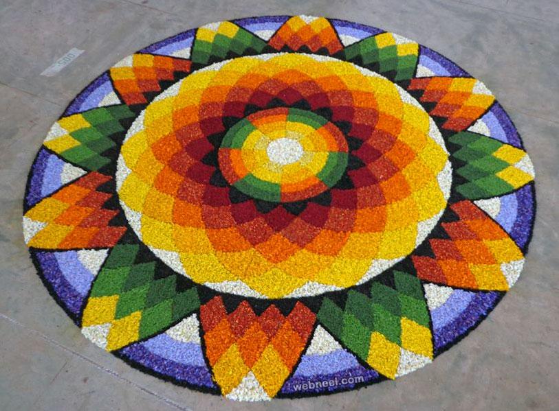 kerala pookalam design winner