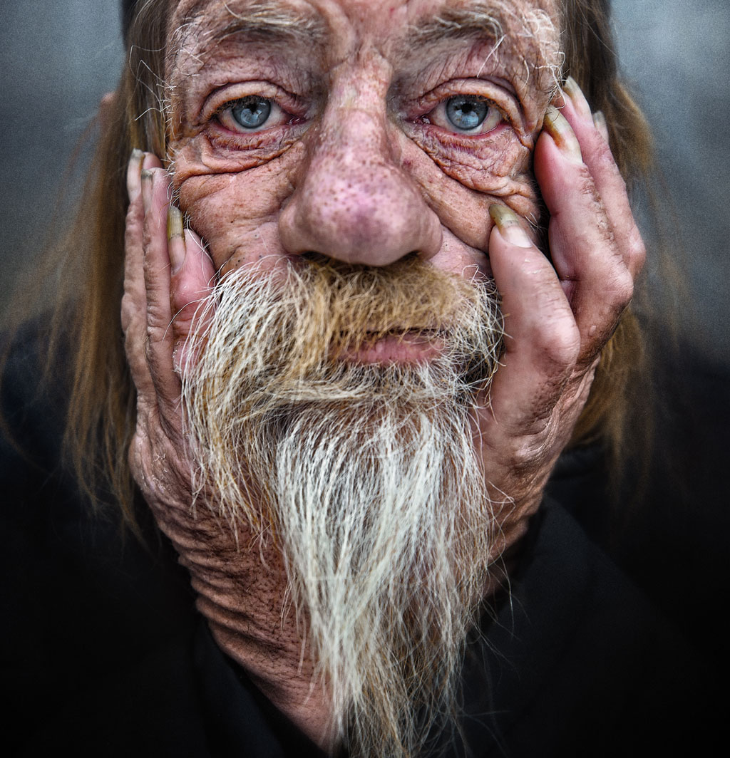 portrait photography homeless