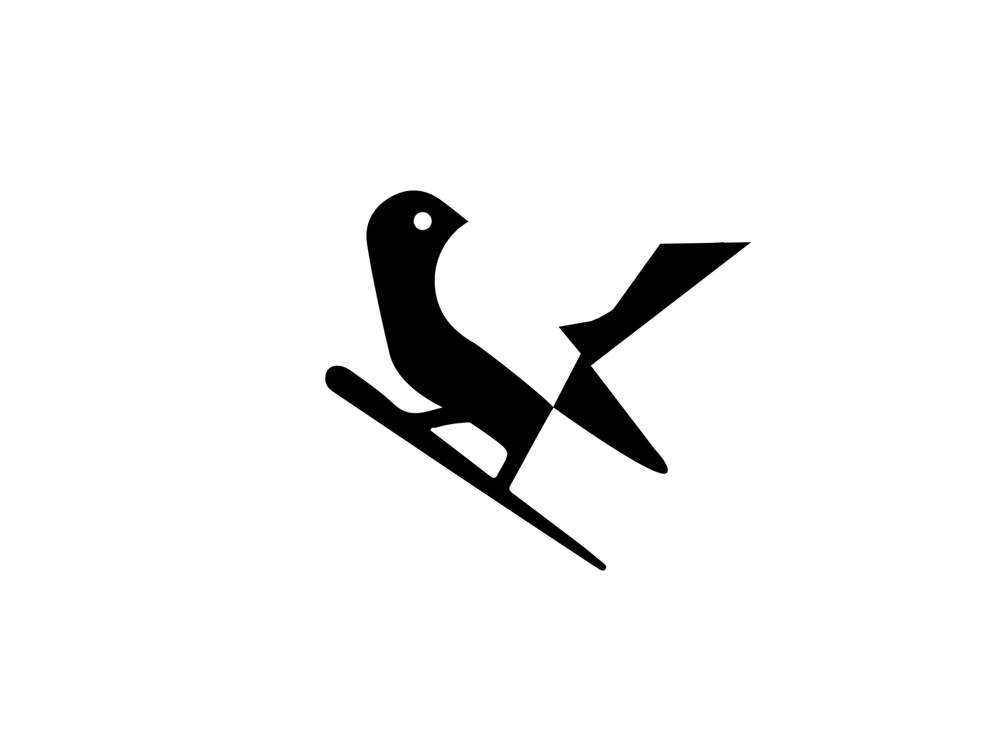 logo design bird by martigny matthieu