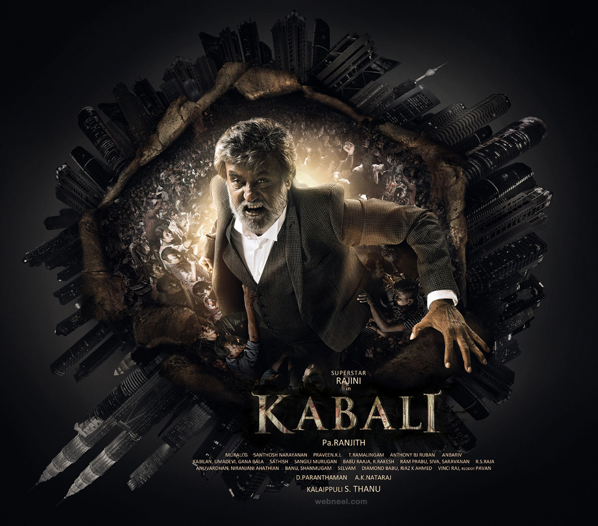 india movie poster design tamil kabali