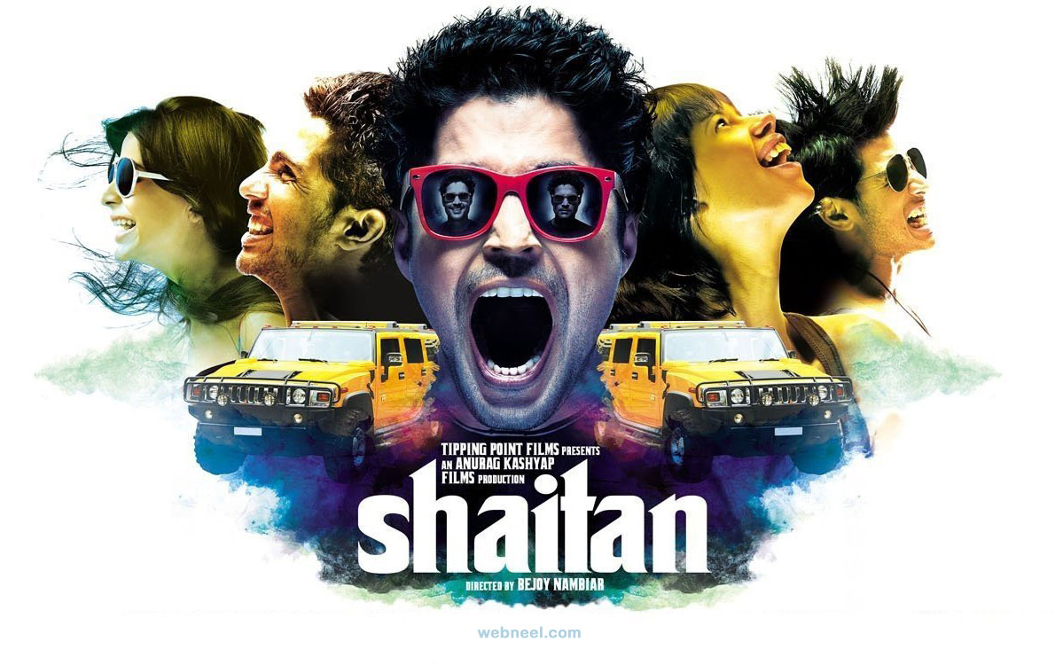 indian movie poster design shaitan