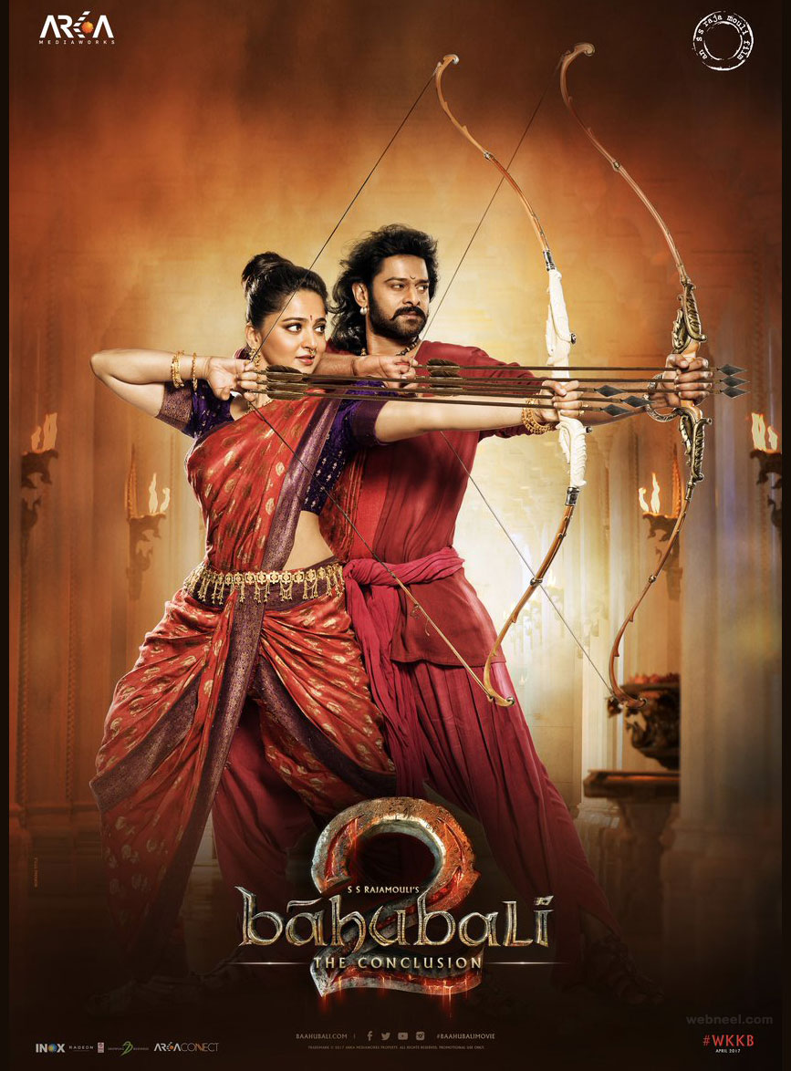 india movie poster design idea bahubali