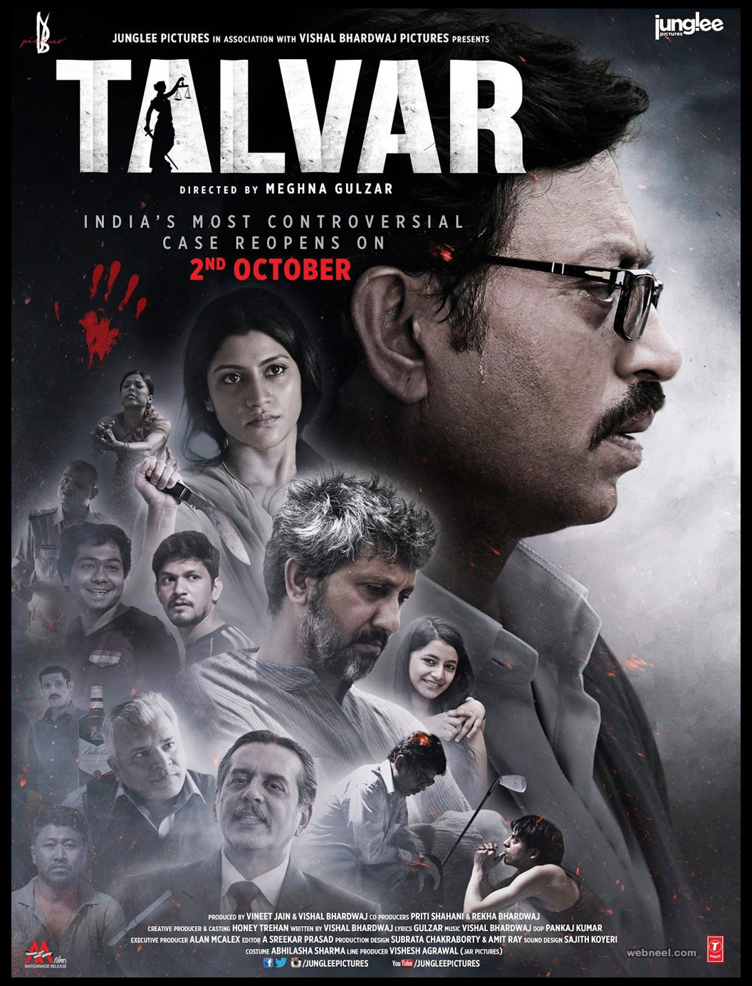 india movie poster designs talvar