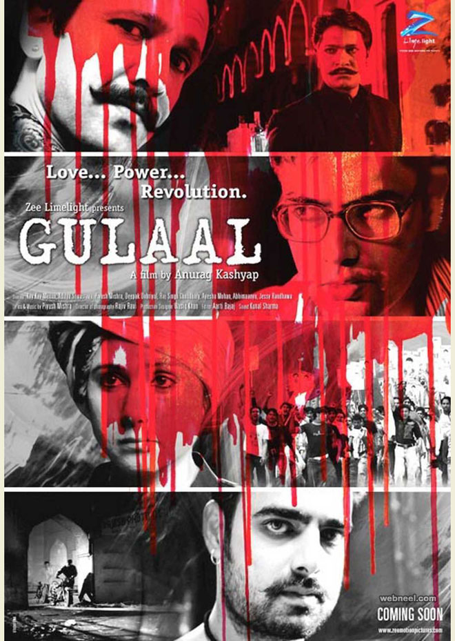 india movie poster designs gulaal