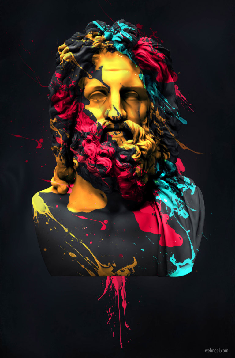 photo manipulation zeus by fotis papadopoulos