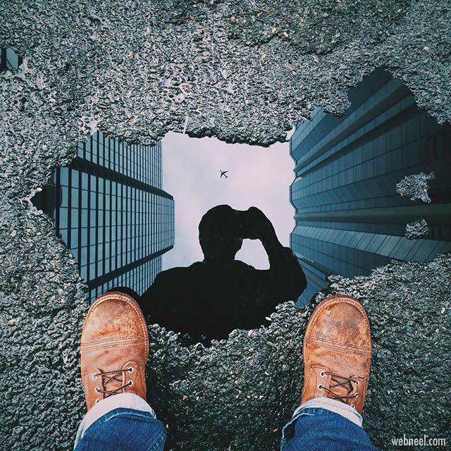 reflection photography by michael pistono