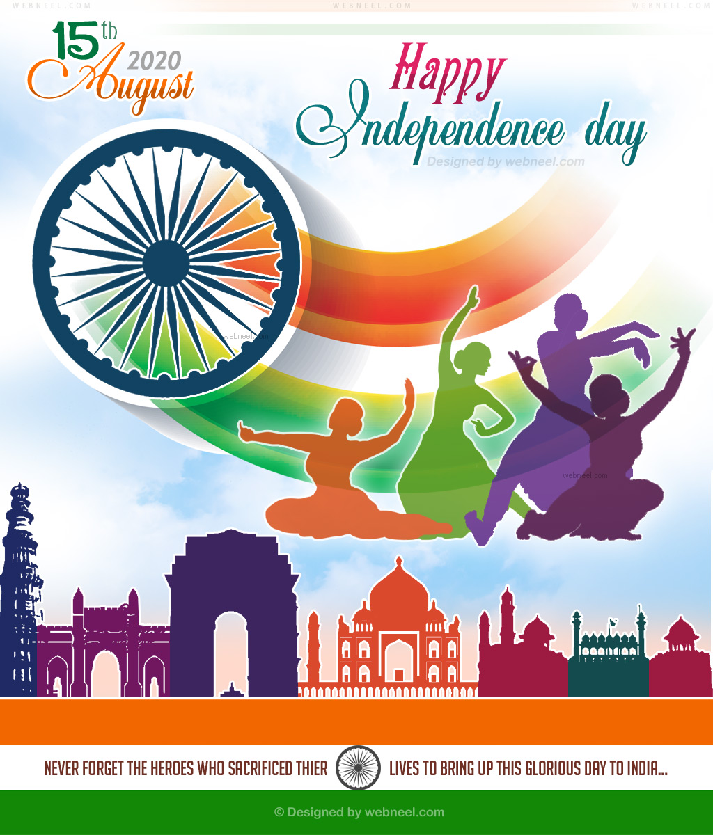 independence day greeting india wishes 2020