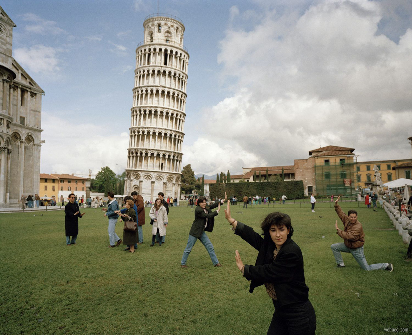 pisa tower leaning photography