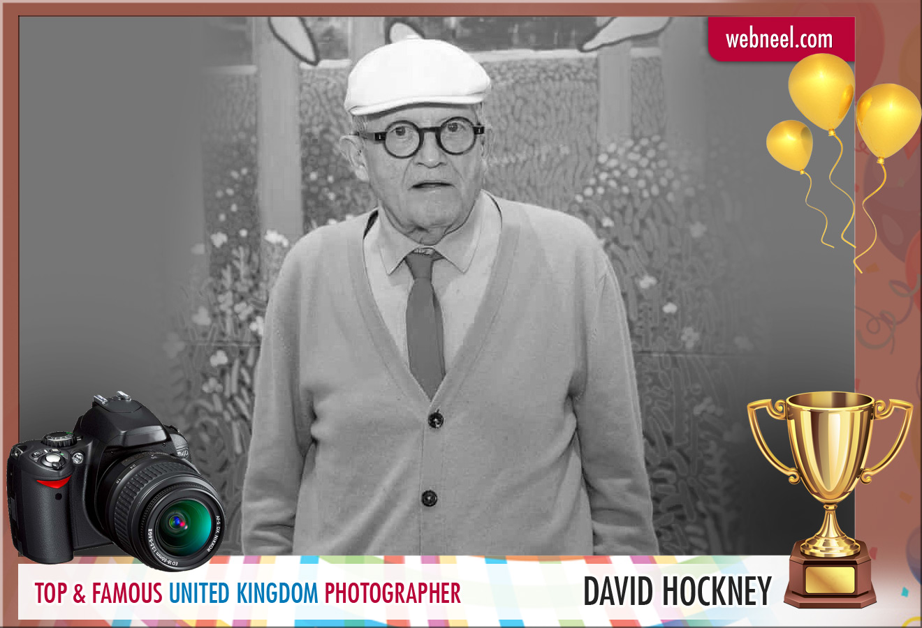 famous uk photographer david hockney