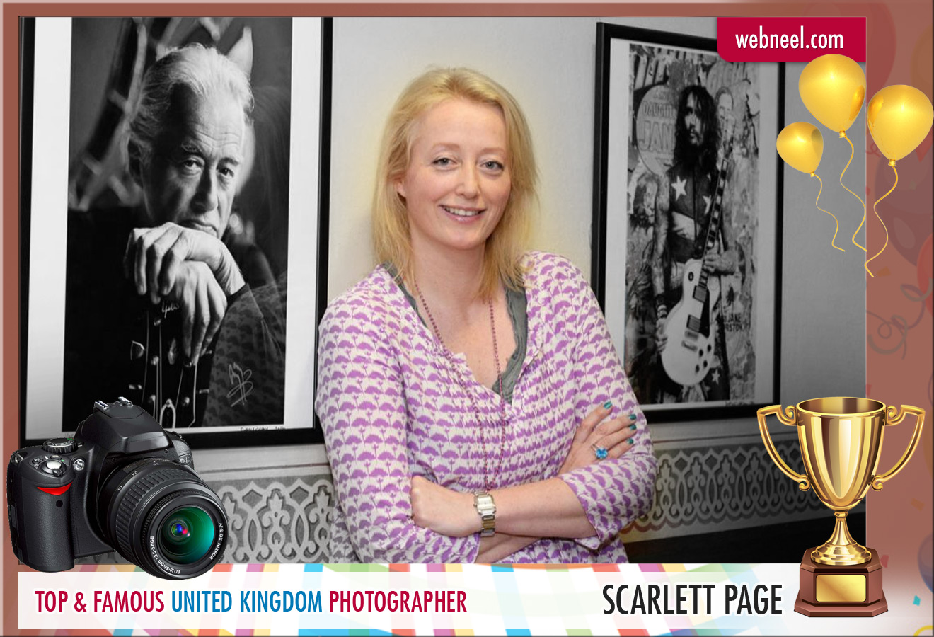 famous uk photographer scarlett page