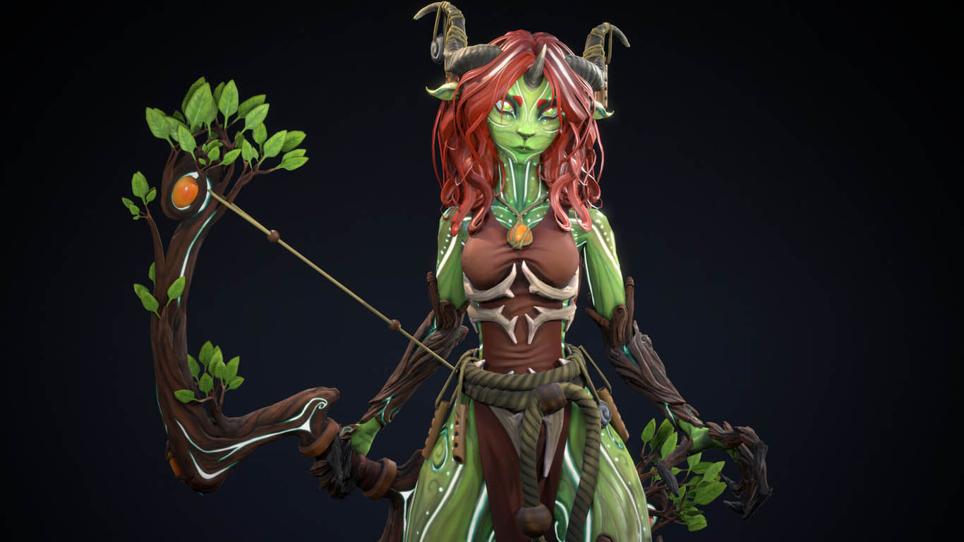 3d model mielikki the forest
