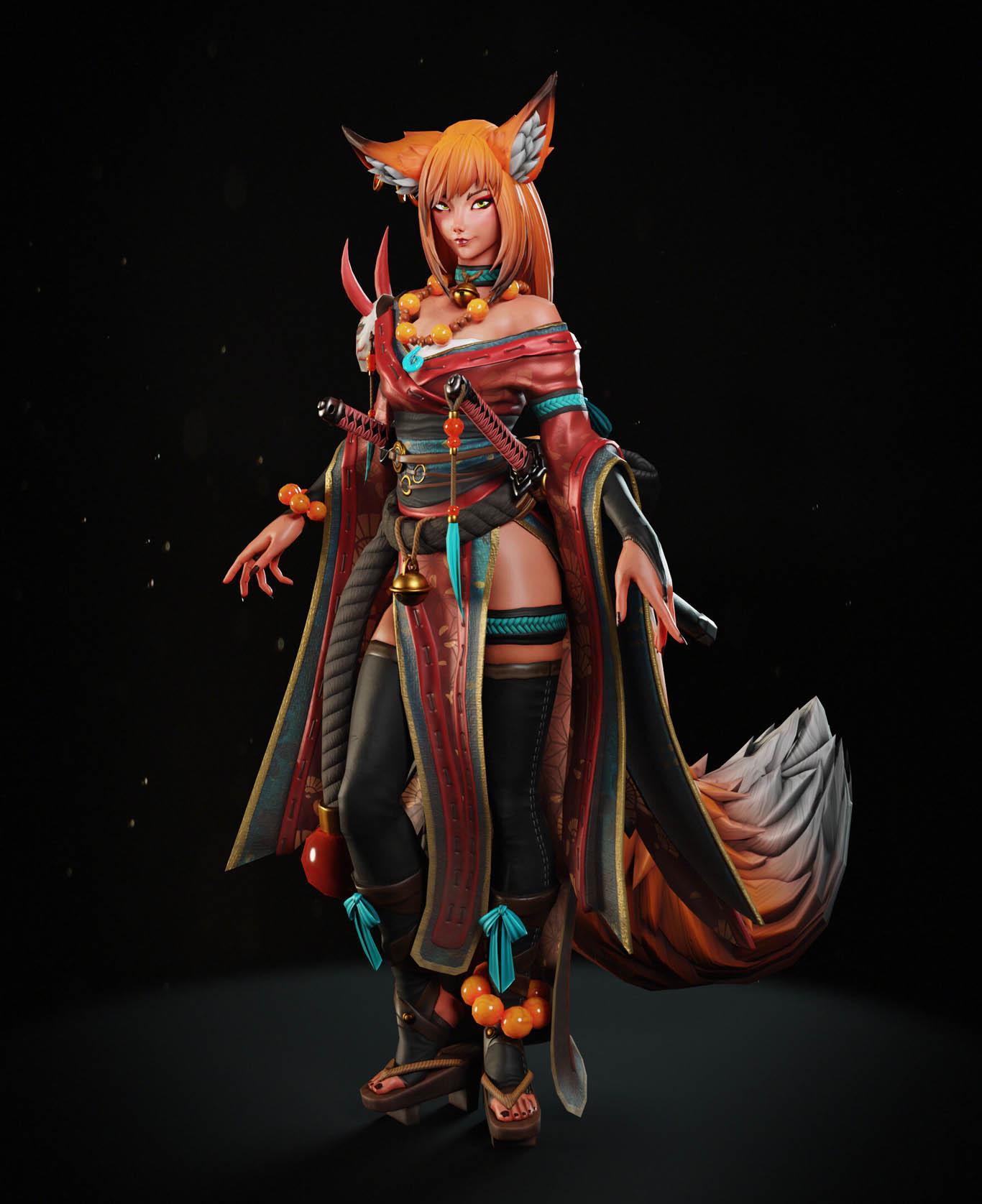 3d model kyoko