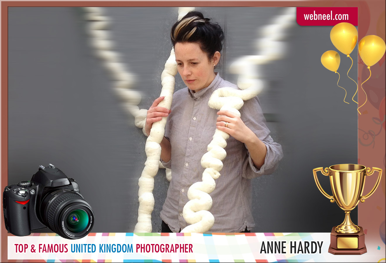 famous uk photographer anne hardy