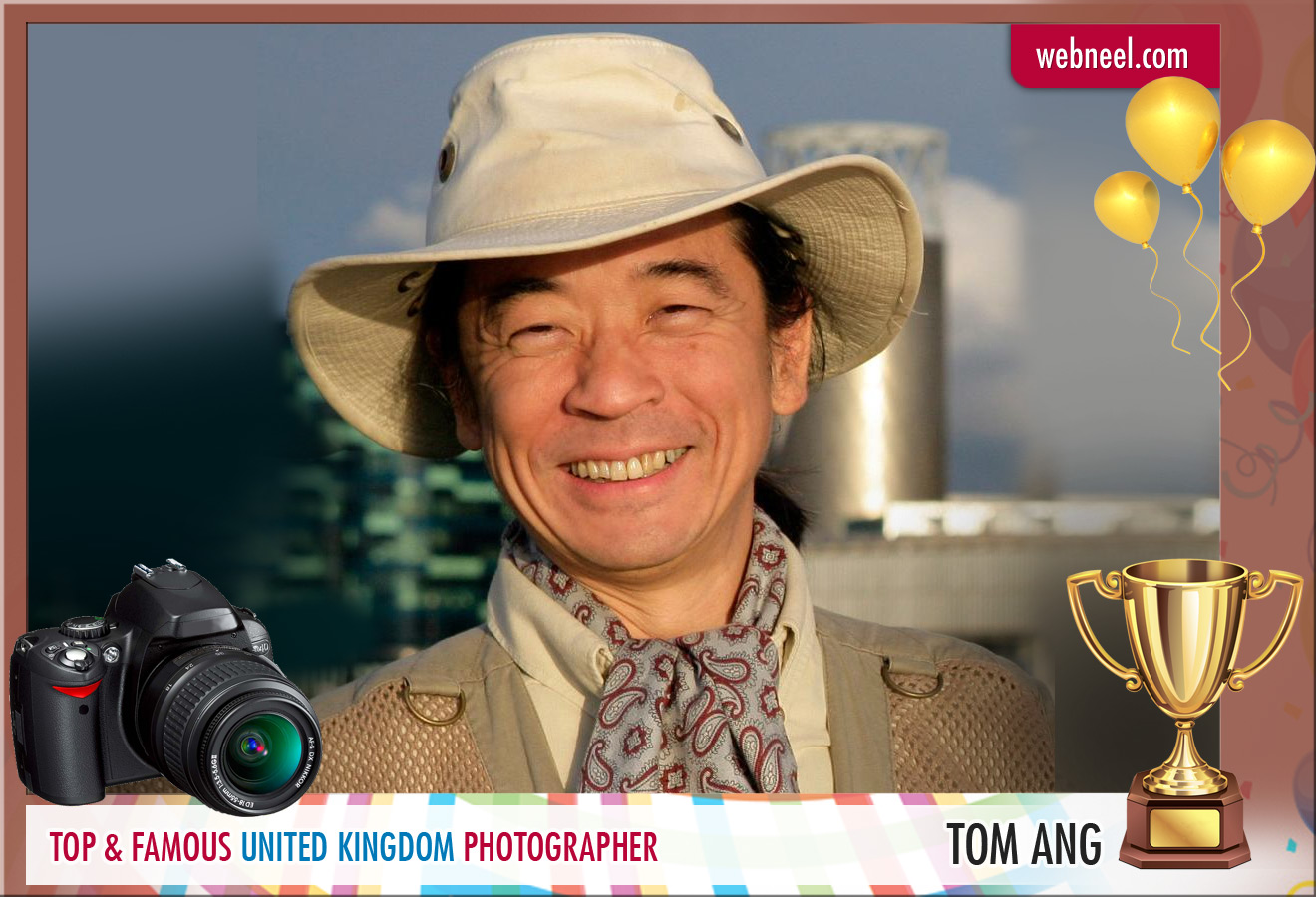 famous uk photographer tom ang