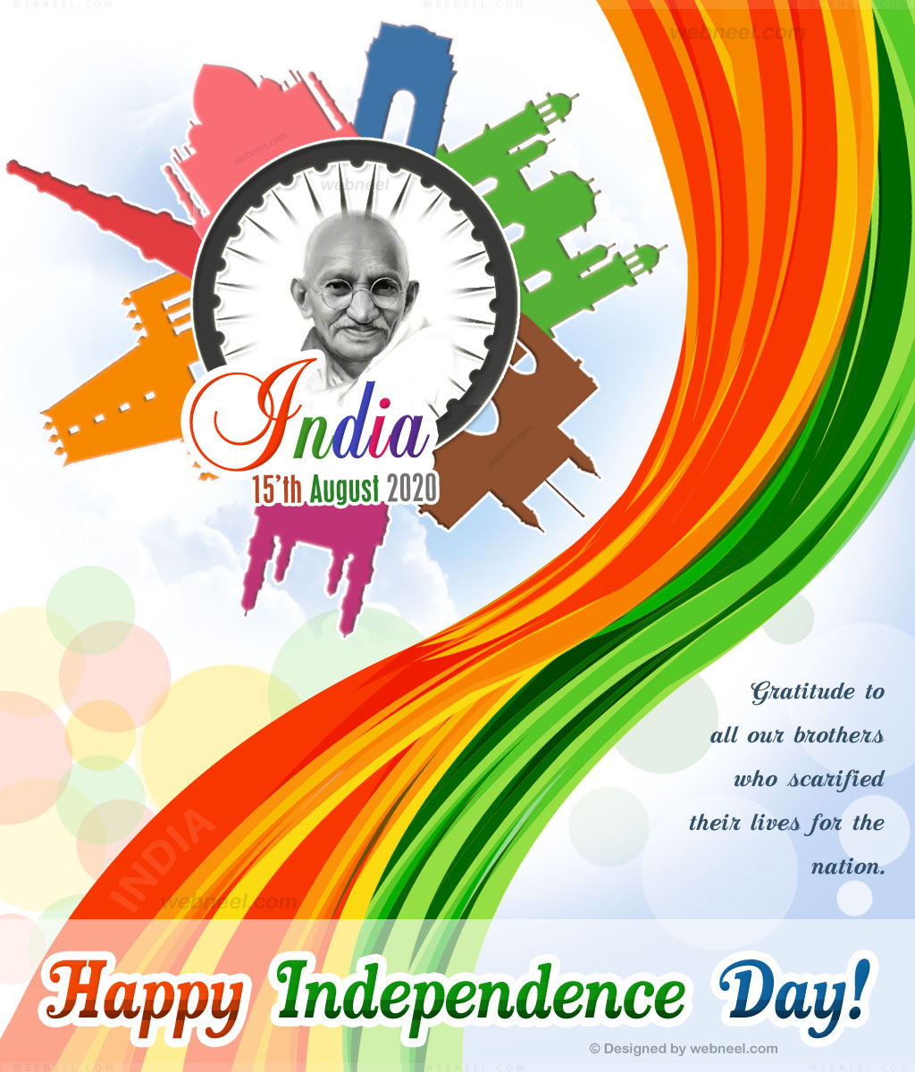 independence day greeting india 2020