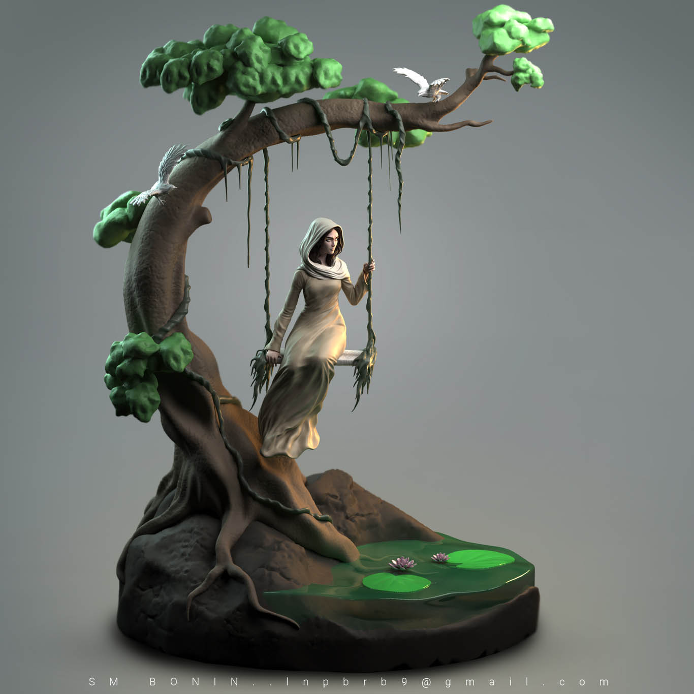 3d model swing by sm bonin