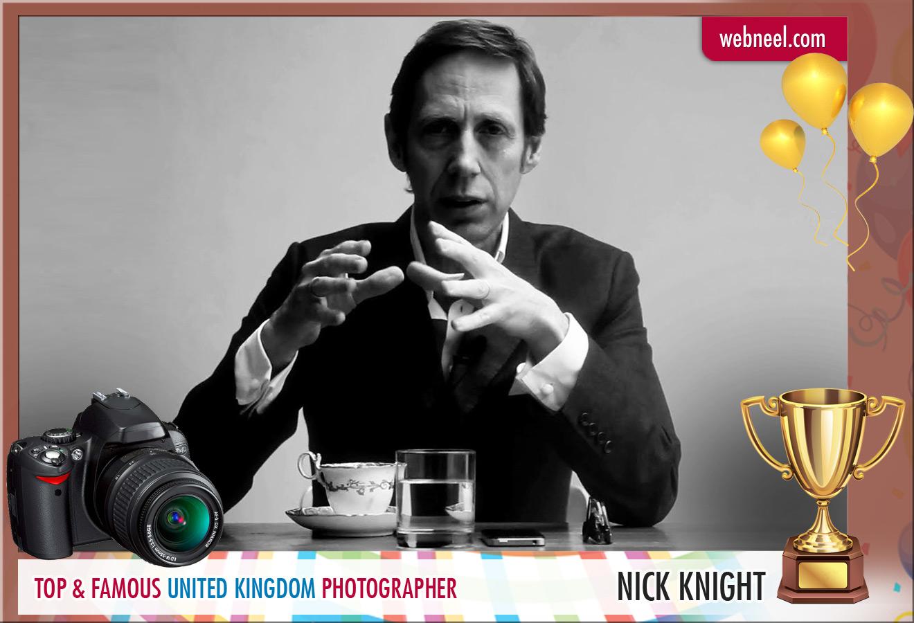 famous uk photographer nick knight