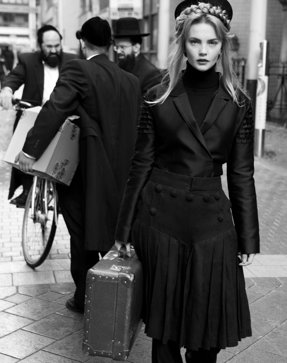 retro fashion photography harpers bazaar antwerp by nicoline patricia