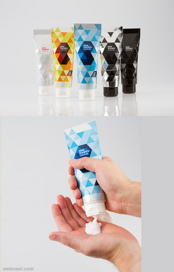 cream packaging design