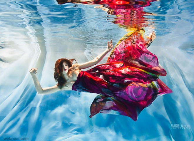 underwater photography colorful by rafal makiela