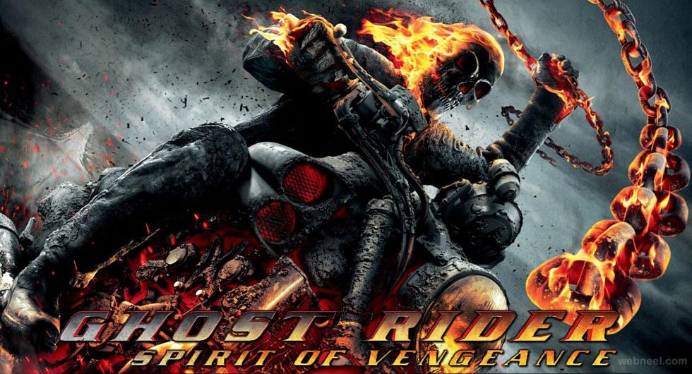 3d ghost rider