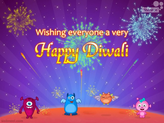 diwali greeting cards designed by dhanesh