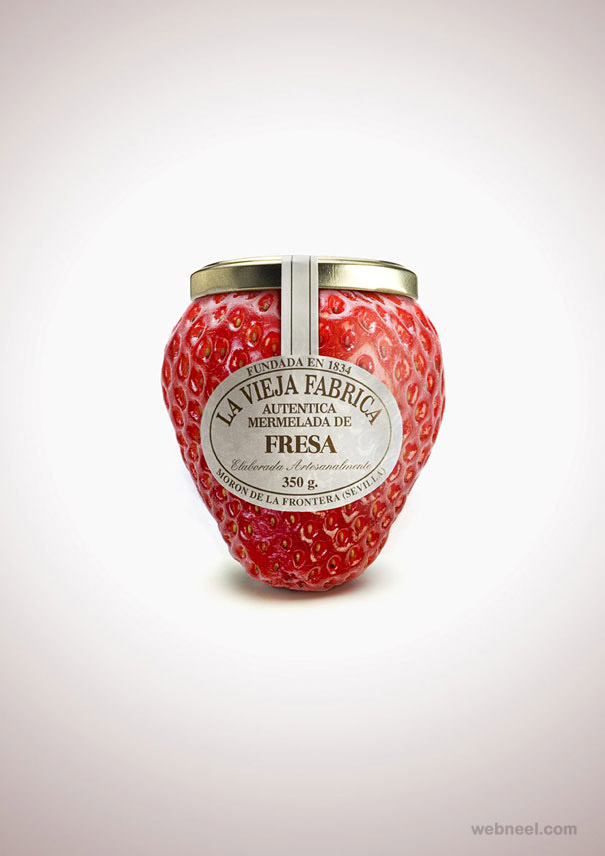 cherry fruit packaging design