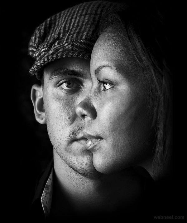 creative photography portrait