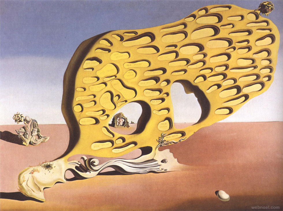 my mother paintings by salvador dali