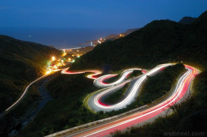 amazing photos motion blur night