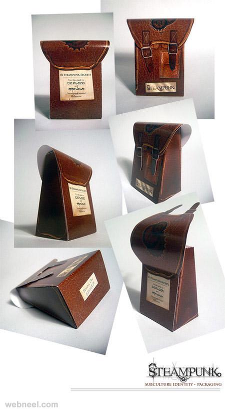 steampunk packaging design