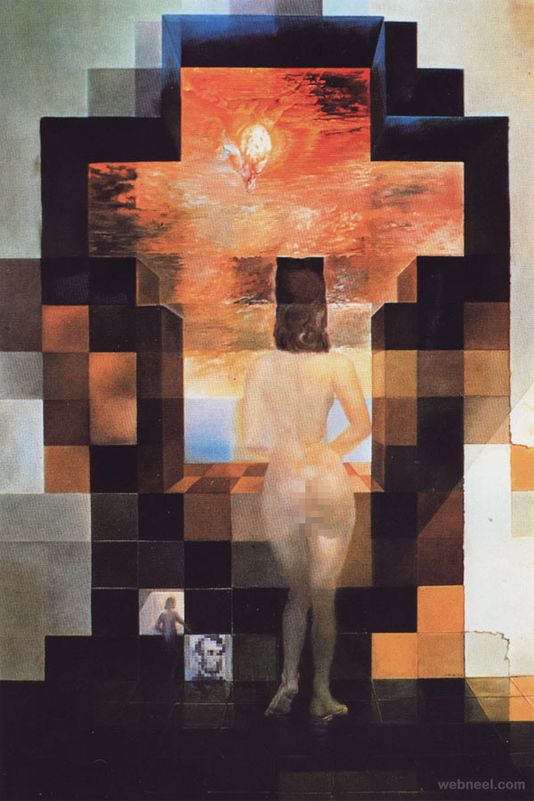 illusion paintings by salvador dali
