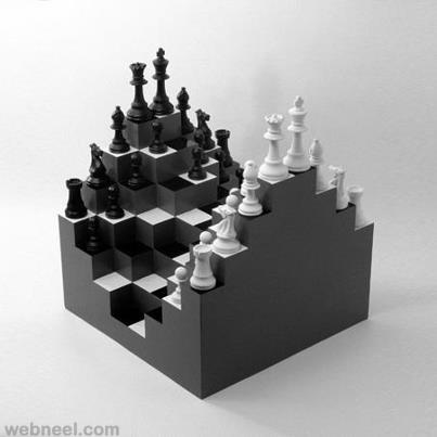 chess board design plans