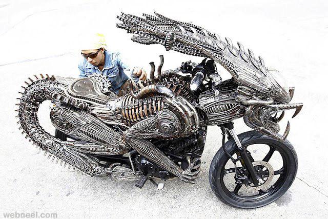 innovative bike design dragon