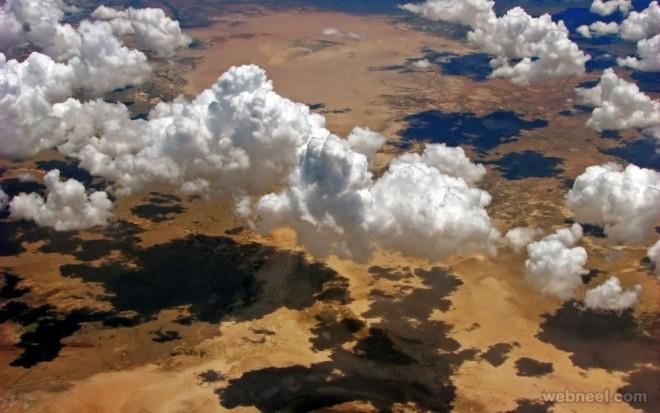 aerial photo nature