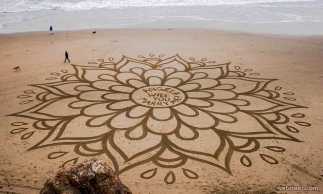 beach art andres amadors