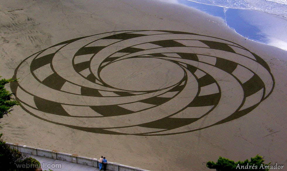 beautiful beach art