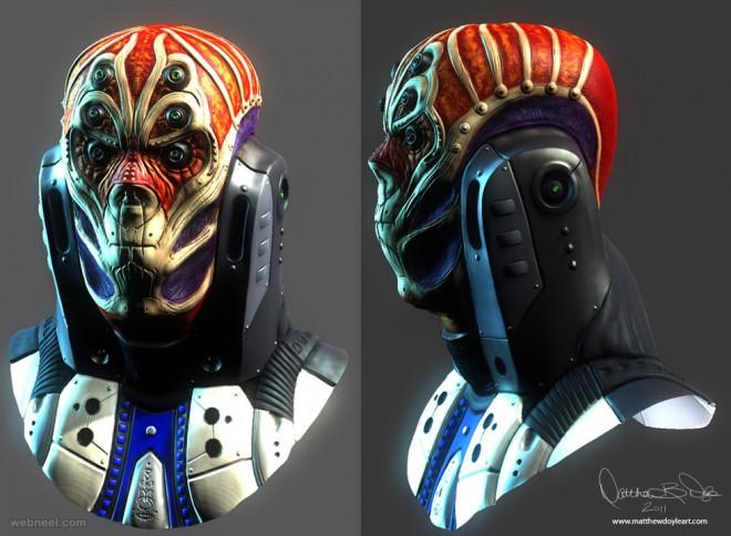 3d alien matthew