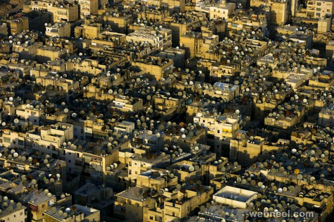 aerial photos city syria