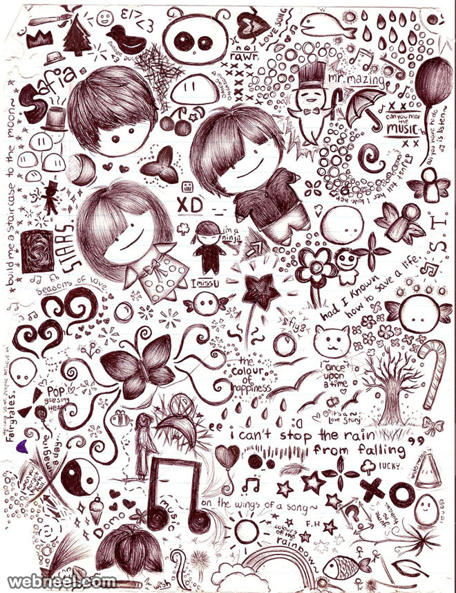 doodle art carpediem