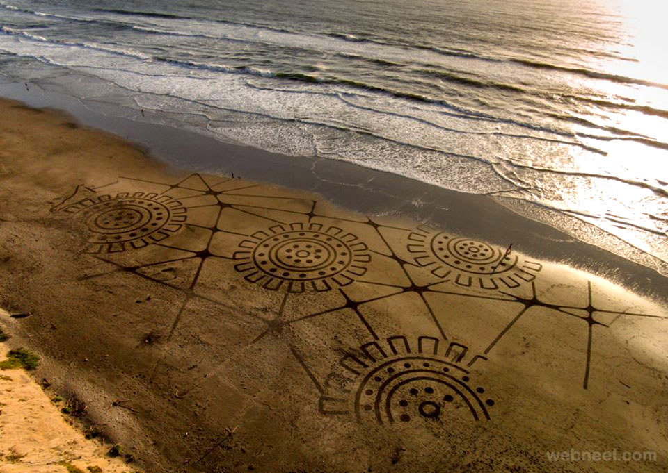 beach art big