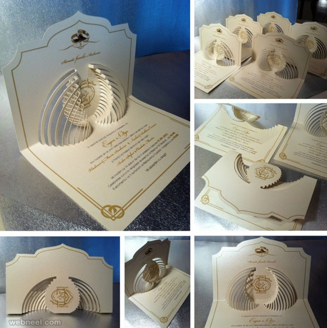 Wedding Invitation Innovative Ideas: Creative Wedding Invitation Card Designs 18