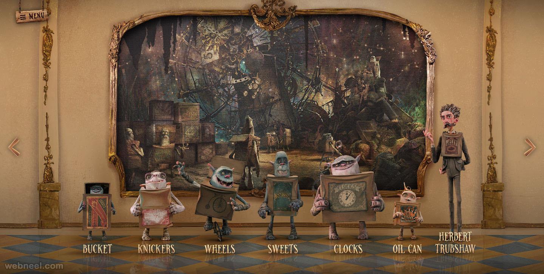 boxtrolls character design