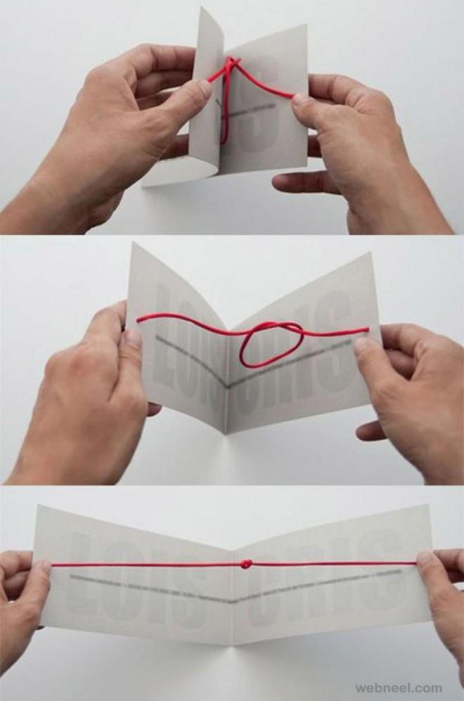 creative unique wedding card design