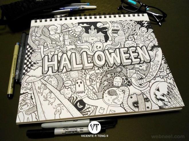 doodle drawings vpteng88