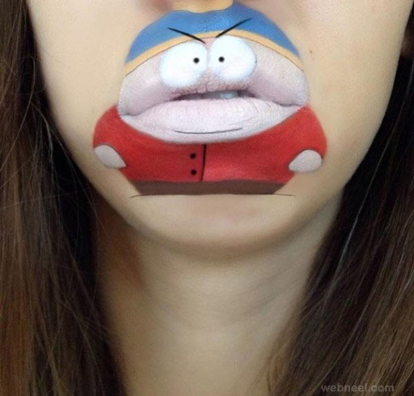 lip art by laura