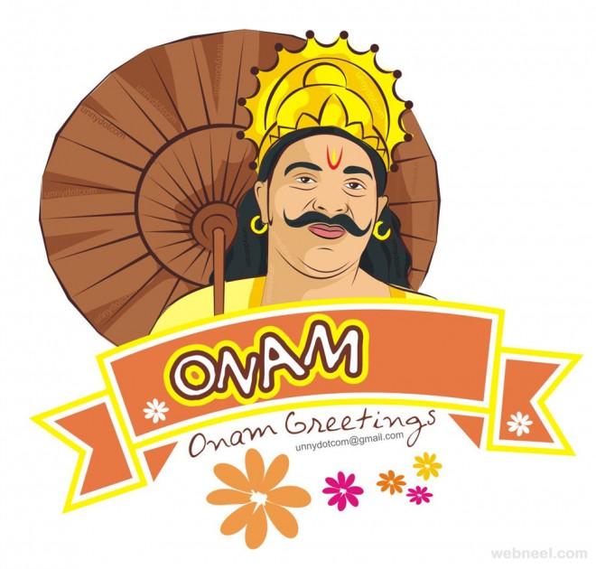 happy onam greetings by unni