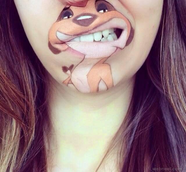 25 Beautiful And Creative Lip Art Ideas Created By Laura Jenkinson