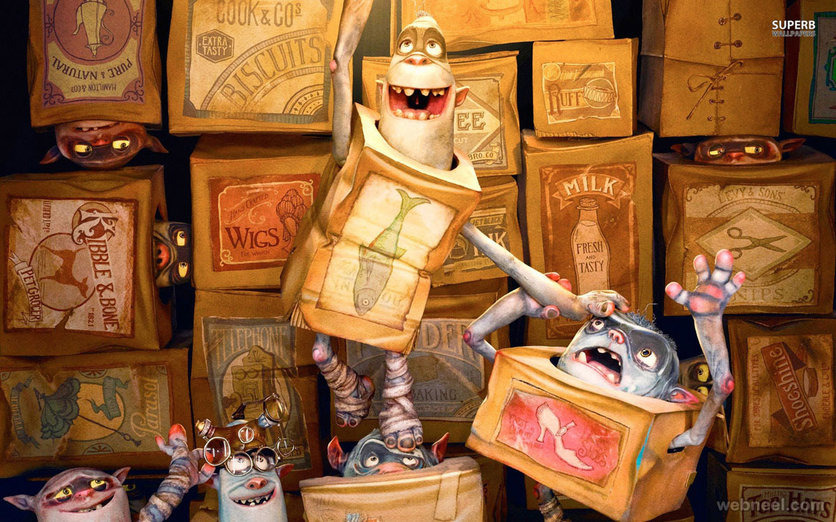 the boxtrolls wallpaper