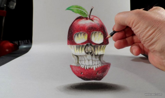 3d drawing by vamosart